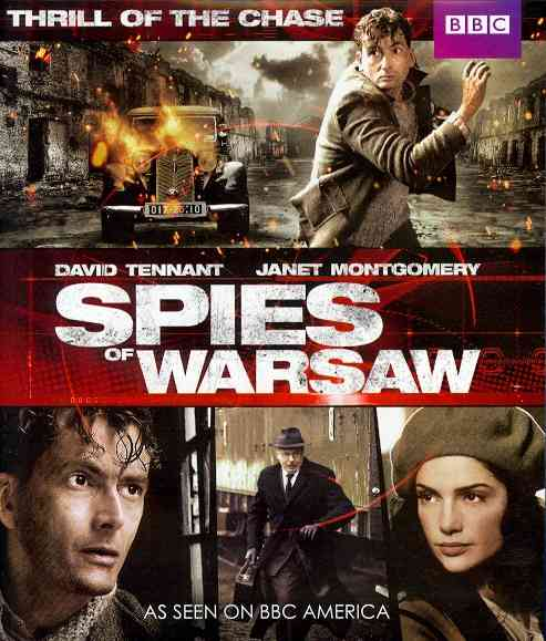 SPIES OF WARSAW BY TENNANT,DAVID (Blu-Ray)